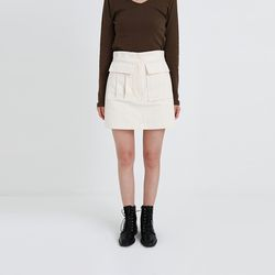 meet cargo mini skirt (2colors)