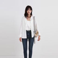 sleeveless set shirt (2colors)