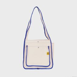 DAY DAY BAG Ecru-blue