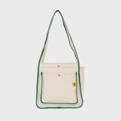 DAY DAY BAG Ecru-green