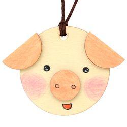 new나무목걸이만들기-돼지