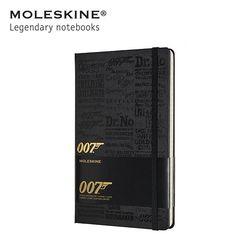 [한정판] 몰스킨노트 007 제임스본드 하드 룰드 라지 타이틀블랙
