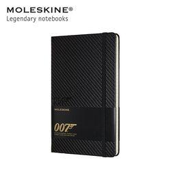 [한정판]몰스킨노트 007  제임스본드 하드 룰드 라지 카본 블랙