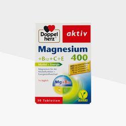 도펠헤르츠 액티브 마그네슘400+비타민 B12+C+E 30개입