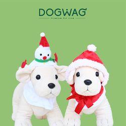 크리스마스 애완용 모자