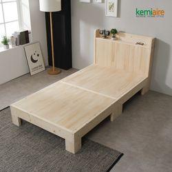 소나무원목 슈퍼싱글 침대프레임 KMD-271