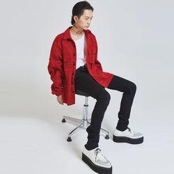 animal pattern cotton jacket (3 color) - UNISEX