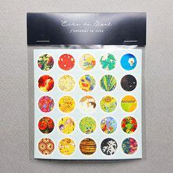 Deco Sticker - Dot Series Ver.2