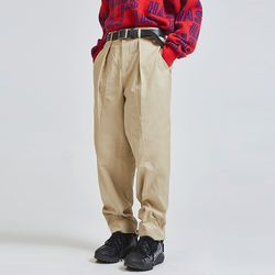 cotton wide banding pants (2 color) - UNISEX