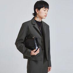 minimal crop jacket (3 color) - UNISEX