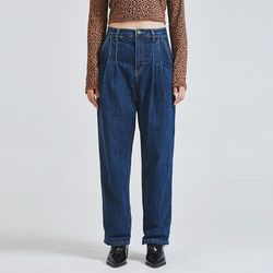 pintuck denim pants (2 color)