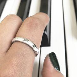 엥게이지 L 탄생화 반지 (Engage L flower ring)