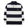 Stripe Rugby T-shirts (white)