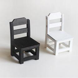 미니 나무의자 (2color)
