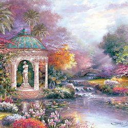 500조각 직소퍼즐 - 제임스 리 - 평화로운 정원풍경 (LA500-037)