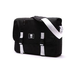 로디스 COMFORTABLE MESSENGER BAG BLACK&WHITE