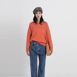 coordi v-neck knit (6colors)