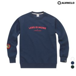 MAR-874 LESS IS MORE 기본핏 기모 맨투맨