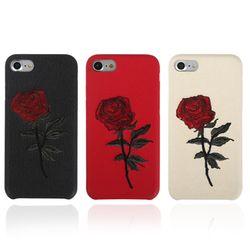 로즈 자수 케이스(아이폰6S플러스)
