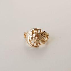 골드 썬 반지 gold sun ring