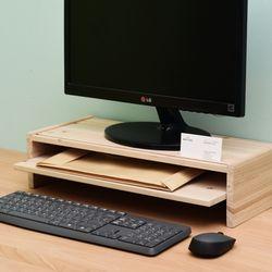 우드로하우스 서랍받침형 모니터받침대 HDM-800