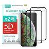 아이폰XS 맥스 강화유리필름 5D풀커버 2매구성