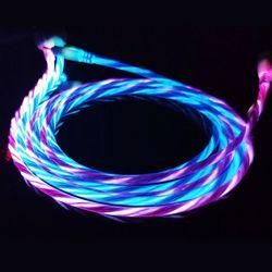 네온라인 충전선 2p (블루+핑크)
