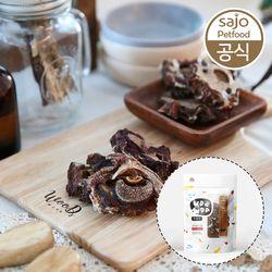 2개세트 우다다 수제간식 송아지목뼈 50g 애견간식