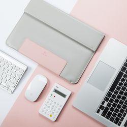 애프터텐 13인치 15인치 노트북 파우치 Pink