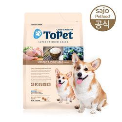 TOPET 치킨 올라이프 7.2kg 애견사료