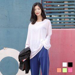 2291 어바웃 긴팔 티셔츠 (5colors)