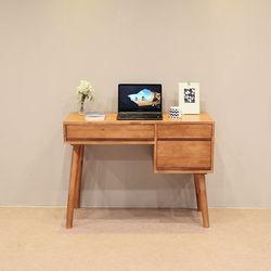 이스테지아 원목 수납 책상 (의자별도)