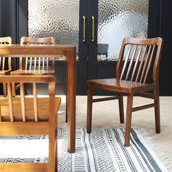 POLIO 폴리오 원목 식탁 의자