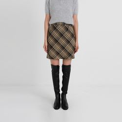 classic check mini skirt (2colors)