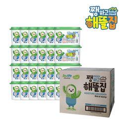 옷장용 제습제 습기제거제 24개(로하스인증 탈취 붙박이장)