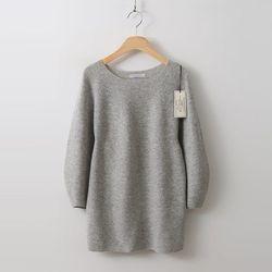 Hoega 캐시미어 Wool Puff Sweater