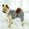 강아지옷 편안한 올인원  블랙 비타민 쉬폰