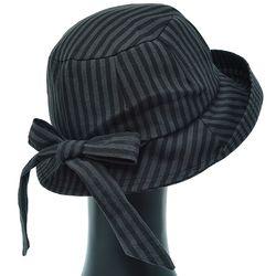 [더그레이]EKU29.뒷리본 ST 여성 벙거지 모자 버킷햇
