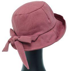 [더그레이]EKU28.뒷리본 여성 벙거지 모자 버킷햇