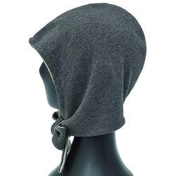 [더그레이]EKU27.소프트 후드 보넷 여성 벙거지 모자
