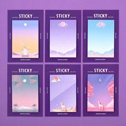 [~10/21일까지] STICKY IT-MOONLIGHT