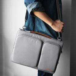 A42 맥북 노트북 가방 15인치-15.6인치 그레이