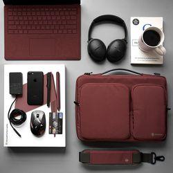 A42 맥북 노트북 가방 14인치-15인치 버건디