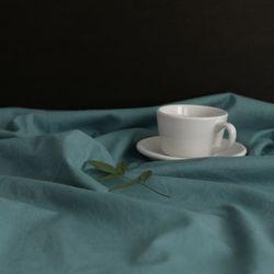 실키워싱 하프린넨 SILKY ETE From Tea-Spearmint Blue