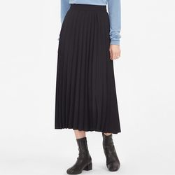 lora pleats skirt (s m)
