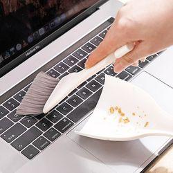 미니 책상 빗자루 ( 방 주방 사무실 키보드 청소 )