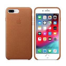 [Apple] 애플 아이폰8플러스 레더 케이스 새들브라운