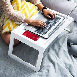 접이식 베드트레이 ( 간이 침대 노트북 테이블 책상 )