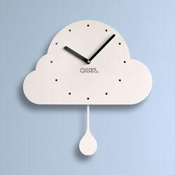 인테리어 추벽시계 (구름이)
