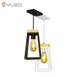 LED식탁등 트라페츠2등 PD(믹스-블랙+화이트)